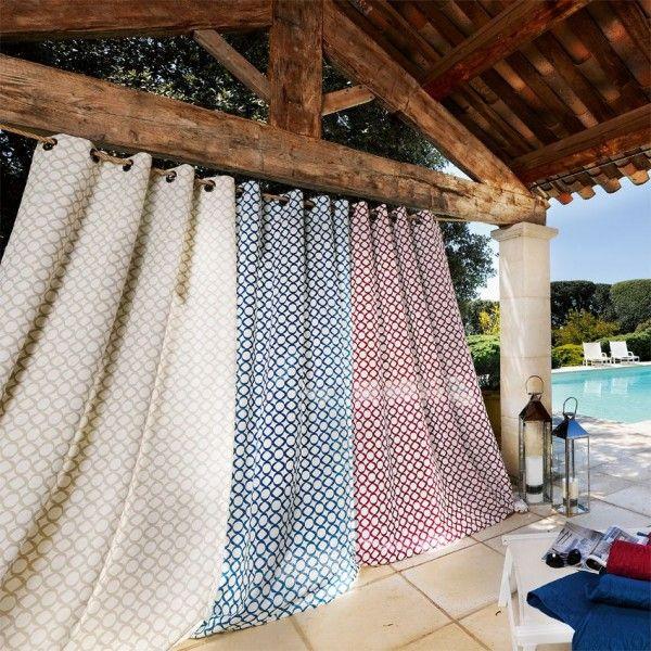 rideau tamisant 140 x h240 cm bellagio bordeaux rideau. Black Bedroom Furniture Sets. Home Design Ideas