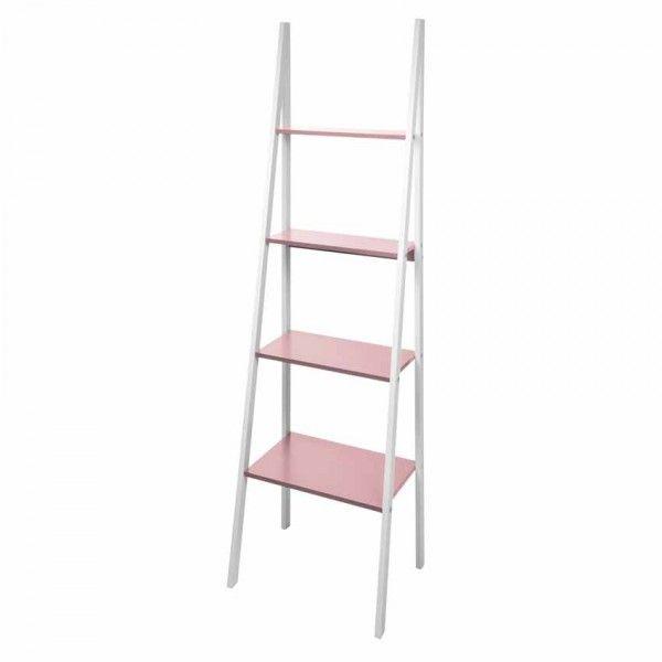 meuble 4 tag res tandora rose poudr meuble de salle de. Black Bedroom Furniture Sets. Home Design Ideas