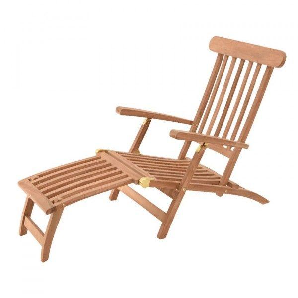 bain de soleil m dina teck transat et hamac eminza. Black Bedroom Furniture Sets. Home Design Ideas
