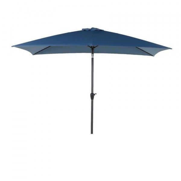 Parasol inclinable rectangulaire Fidji (3 x 2 m) - Orage
