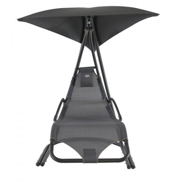 fauteuil suspendu majorque anthracite transat et hamac. Black Bedroom Furniture Sets. Home Design Ideas