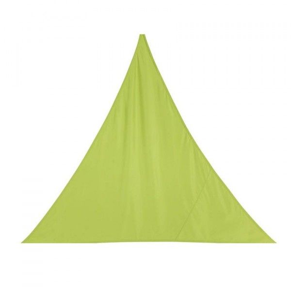 Voile d'ombrage Triangulaire (L2 m) Curacao - Vert anis