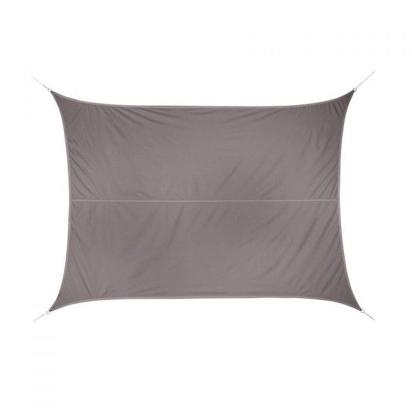 Voile d'ombrage Rectangulaire (2 x 3 m) Curacao - Taupe