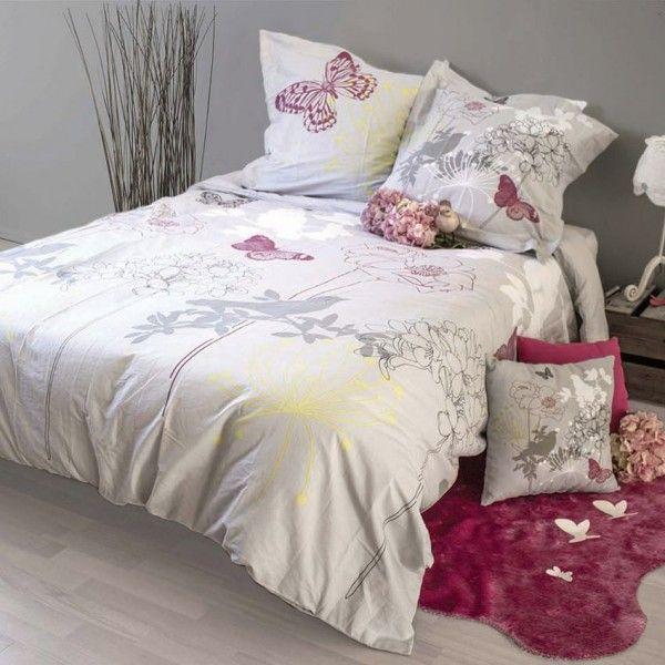 Housse de couette linge de lit eminza - Housse de couette design ...