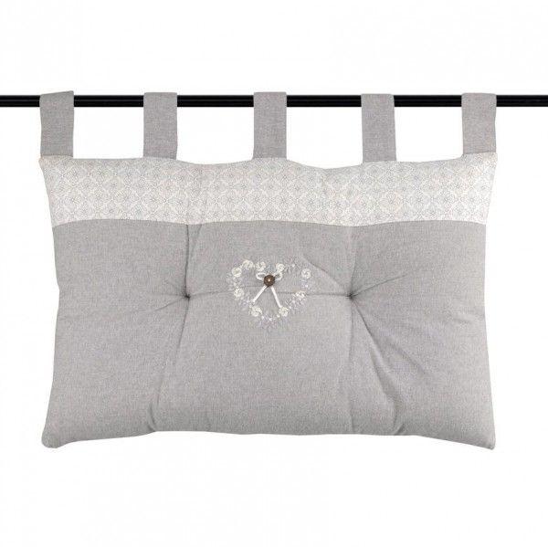 t te de lit style campagne chic linge de lit eminza. Black Bedroom Furniture Sets. Home Design Ideas