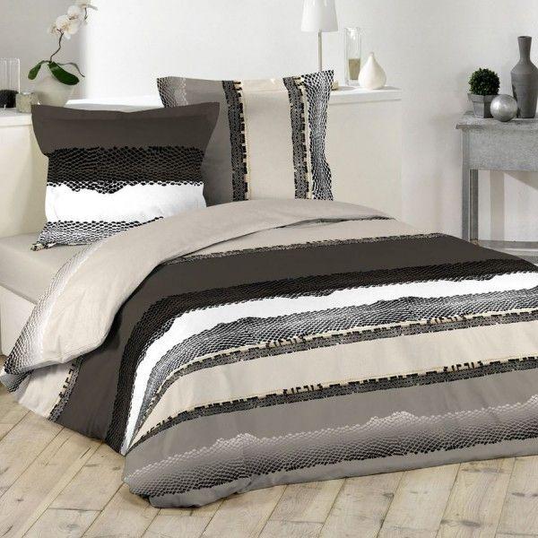 Linge de lit multicouleur eminza for Site de linge de lit