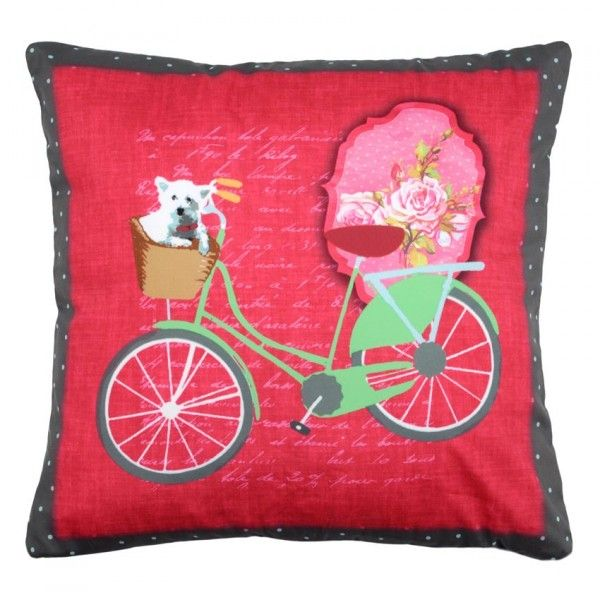 Coussin Bicycle Doggy