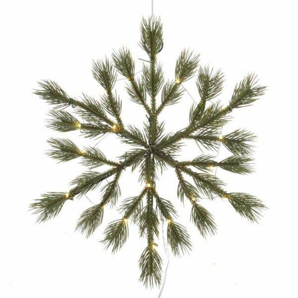verlichte kerstster gabriel d39 cm dennengroen