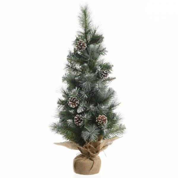 Sapin artificiel de table Sweden H45 cm Vert enneigé