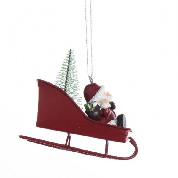 Decoration Avion Pere Noel A Suspendre