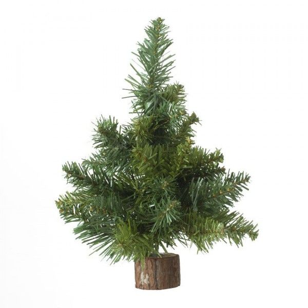 Sapin artificiel de table Blooming H25 cm Vert