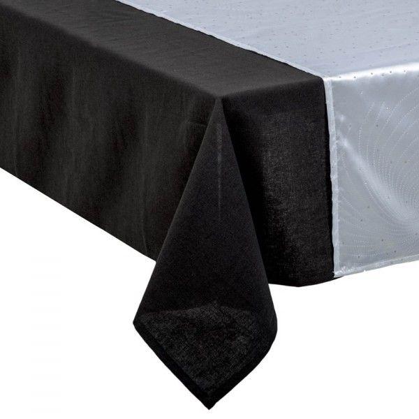 chemin de table design argent d coration de table eminza. Black Bedroom Furniture Sets. Home Design Ideas
