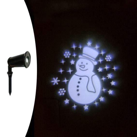 Projecteur lumineux pour fa ade decoration lumineuse for Projecteur led noel blanc