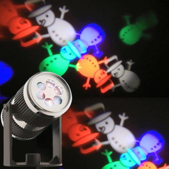 Projecteur lumineux pour fa ade decoration lumineuse eminza for Projecteur laser neige