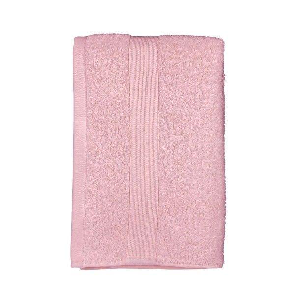 serviette de bain rose linge de bain eminza. Black Bedroom Furniture Sets. Home Design Ideas