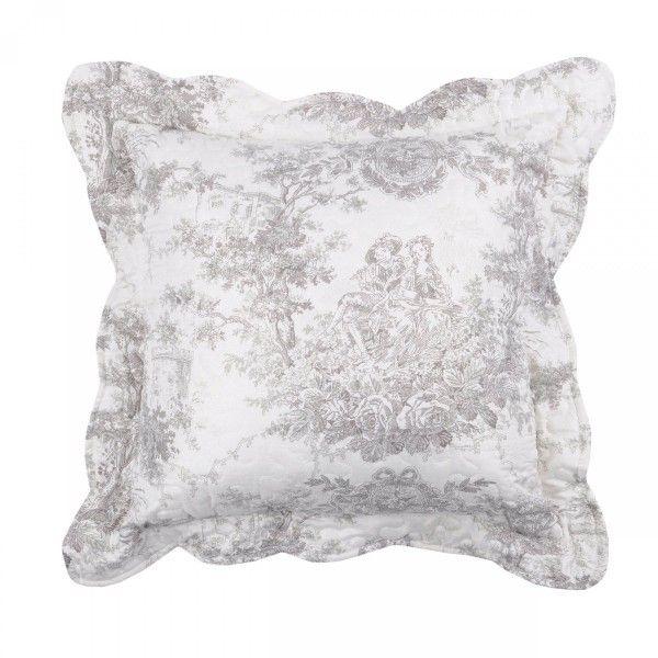 coussin et housse de coussin style campagne chic coussin et galette 2 eminza. Black Bedroom Furniture Sets. Home Design Ideas