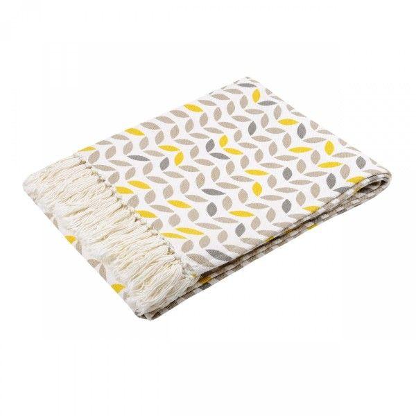 Jeté de canapé (170 cm) Pepa Gris - Déco textile - Eminza