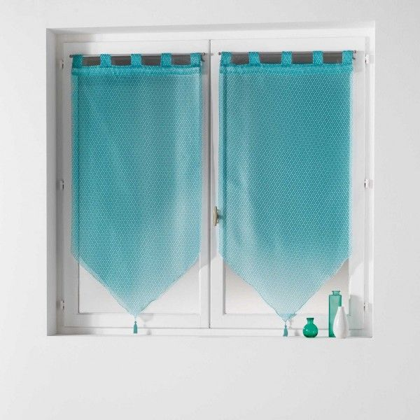 rideau et voilage vert soldes eminza. Black Bedroom Furniture Sets. Home Design Ideas
