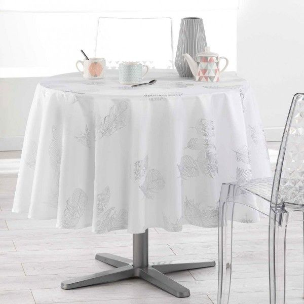 nappe de table ronde d180 cm linge de table eminza. Black Bedroom Furniture Sets. Home Design Ideas