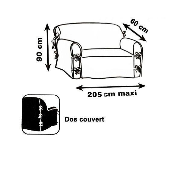 housse de canap 3 places stella gris anthracite d co. Black Bedroom Furniture Sets. Home Design Ideas
