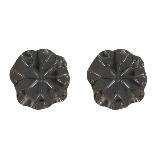 Lot de 2 pinces Cleo Graphite