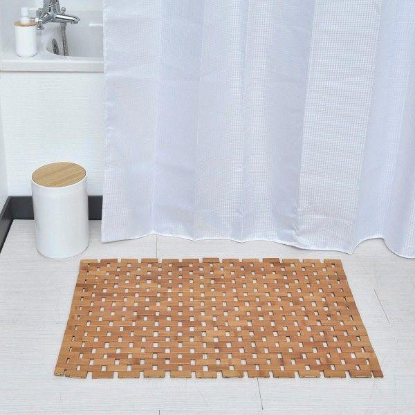 Tapis De Bain Bambou : tapis de bain caillebotis natty bambou tapis eminza ~ Nature-et-papiers.com Idées de Décoration