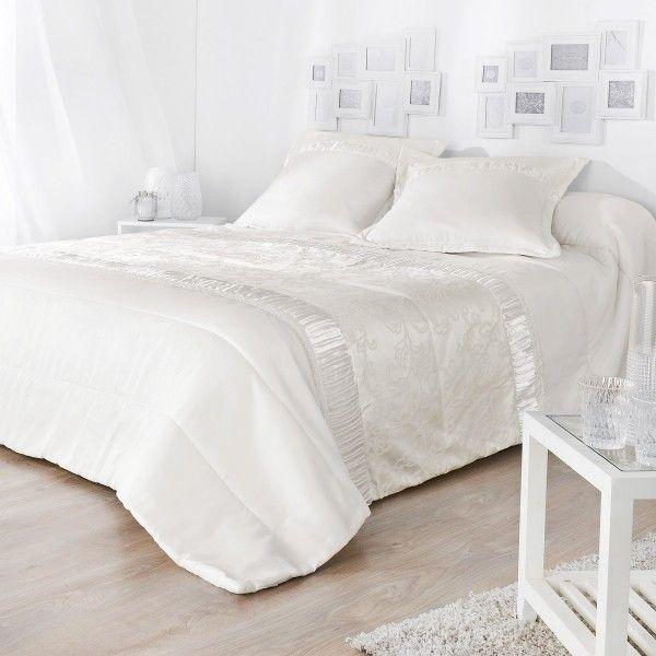 couvre lit boutis 2 places linge de lit eminza. Black Bedroom Furniture Sets. Home Design Ideas
