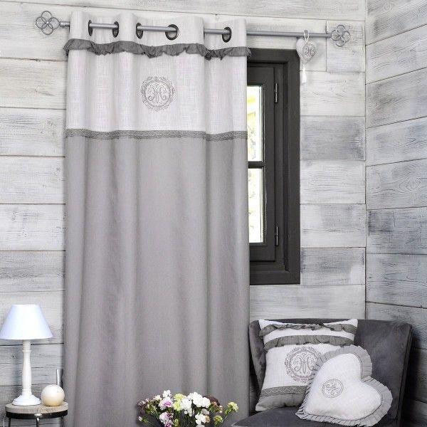 rideau et voilage rideaux rideaux occultant voilage eminza. Black Bedroom Furniture Sets. Home Design Ideas