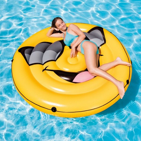 Ile gonflable flottante Smile - Intex