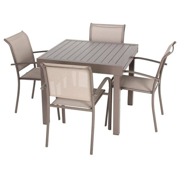 Table De Jardin Aluminium: Table De Jardin Extensible Piazza Aluminium (180 X 90 Cm