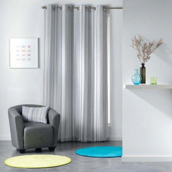 annalea schwarz wei vorhang 140 x 260 cm gardinen. Black Bedroom Furniture Sets. Home Design Ideas