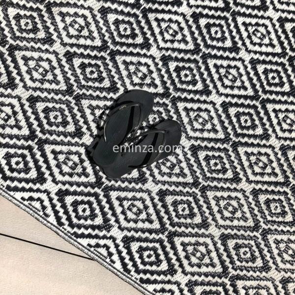 tapis d 39 ext rieur 160 x 260 cm aquatika noir textile d. Black Bedroom Furniture Sets. Home Design Ideas