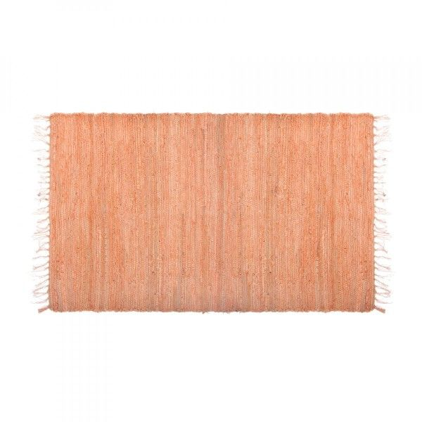 Tapis coton (140 cm) Facto Orange pêche