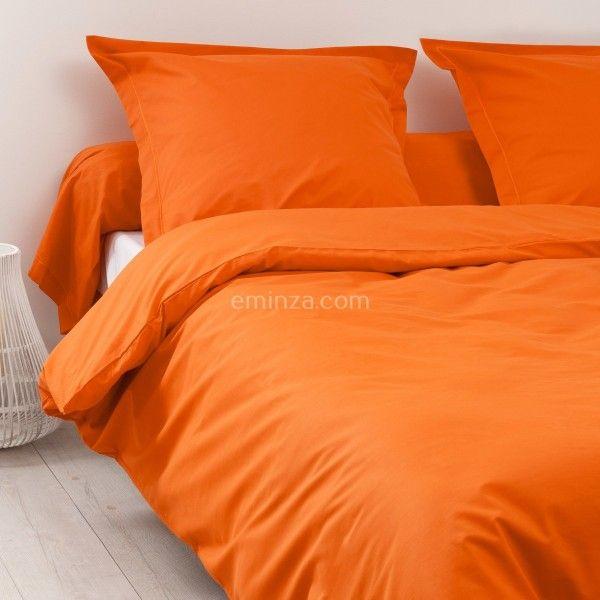 Funda n rdica algod n 140 cm f licie naranja calabaza funda n rdica eminza - Funda nordica naranja ...