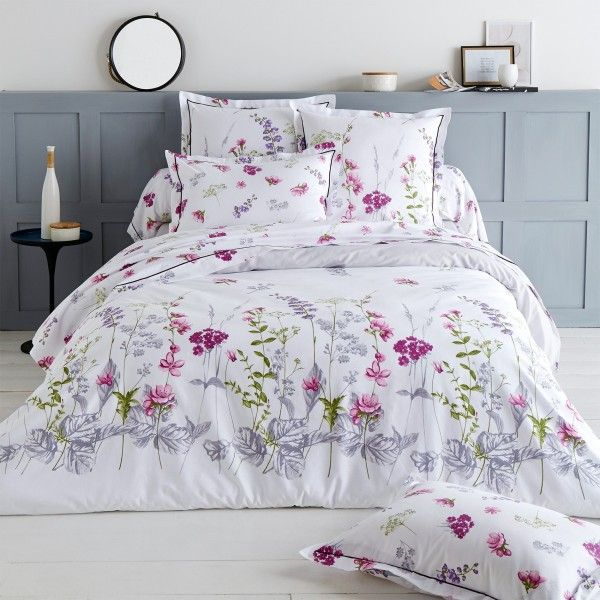 housse de couette coton 300 cm pretty blanc housse de couette eminza. Black Bedroom Furniture Sets. Home Design Ideas