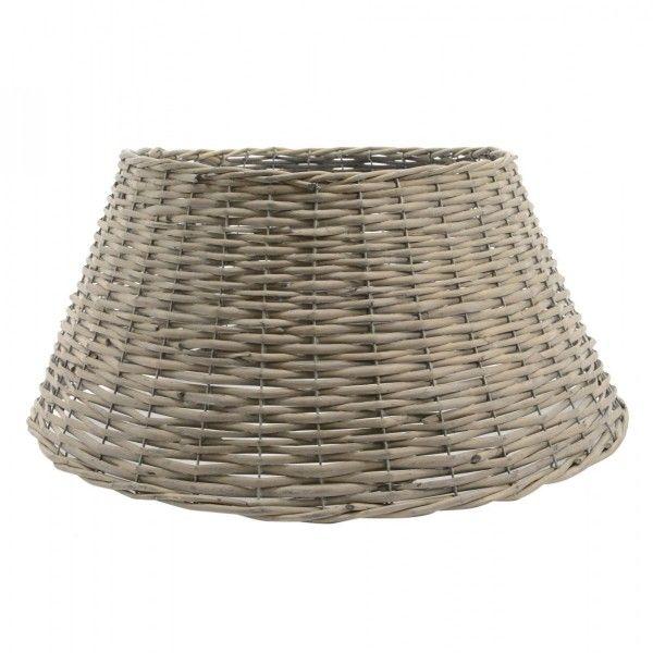 cache pied de sapin en saule tress gris sapin et arbre artificiel eminza. Black Bedroom Furniture Sets. Home Design Ideas