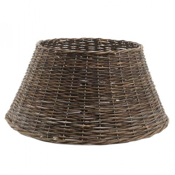 cache pied de sapin en saule tress brun sapin et arbre artificiel eminza. Black Bedroom Furniture Sets. Home Design Ideas