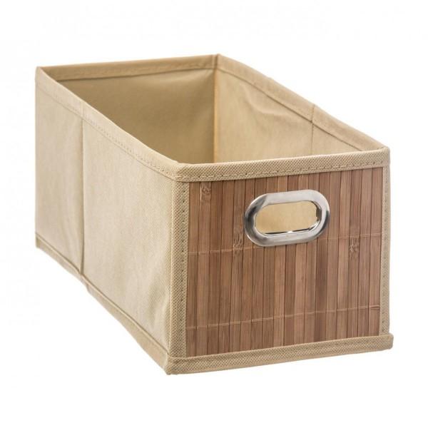panier de rangement bamboon naturel petit mod le meuble. Black Bedroom Furniture Sets. Home Design Ideas