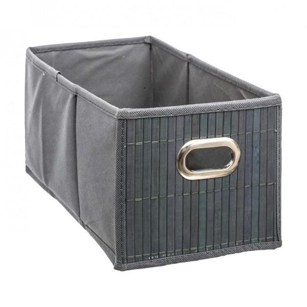 panier de rangement bamboon gris petit mod le meuble de. Black Bedroom Furniture Sets. Home Design Ideas