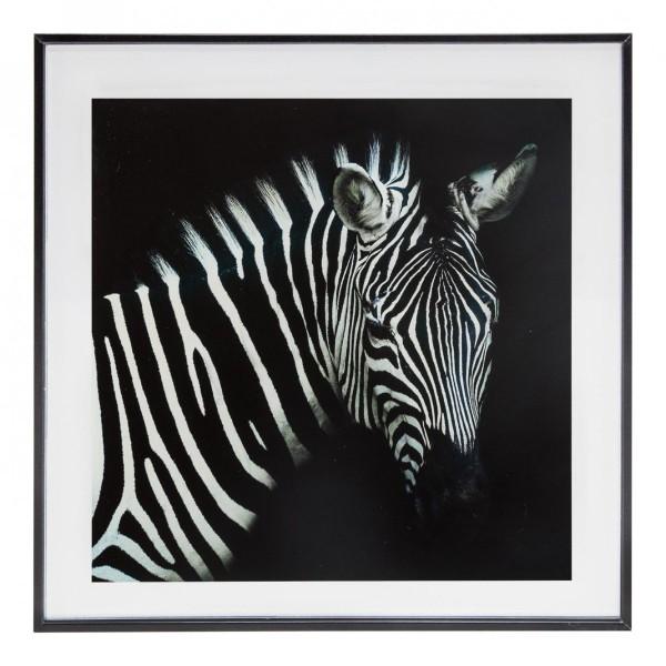 cadre photo 28x28 z bre noir et blanc cadre photo eminza. Black Bedroom Furniture Sets. Home Design Ideas
