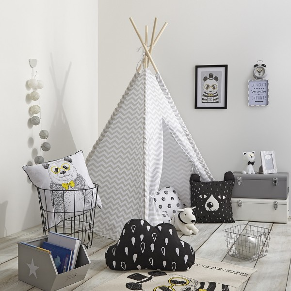 Tipi Twin Gris