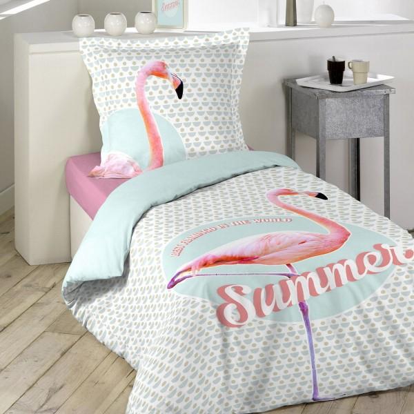 Berühmt Bettwäsche aus Baumwolle (140 cm) Sommer Rosa - Bettwaren - Eminza PE28