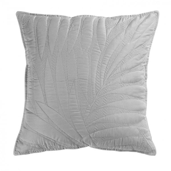 housse de coussin 40 cm alesia gris d co textile eminza. Black Bedroom Furniture Sets. Home Design Ideas