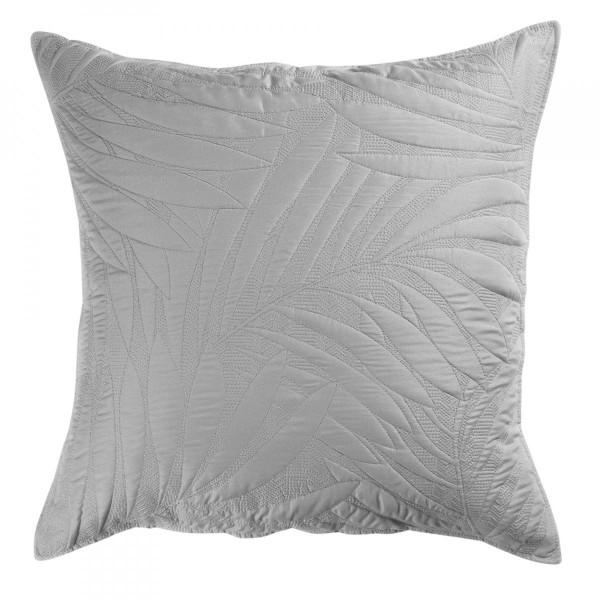 housse de coussin 60 cm alesia gris d co textile eminza. Black Bedroom Furniture Sets. Home Design Ideas