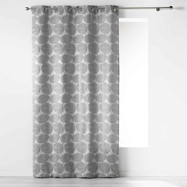 rideau tamisant 140 x 260 cm elina gris anthracite. Black Bedroom Furniture Sets. Home Design Ideas