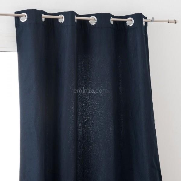 rideau obscurcissant isolant 140 x 260 cm avoriaz bleu. Black Bedroom Furniture Sets. Home Design Ideas
