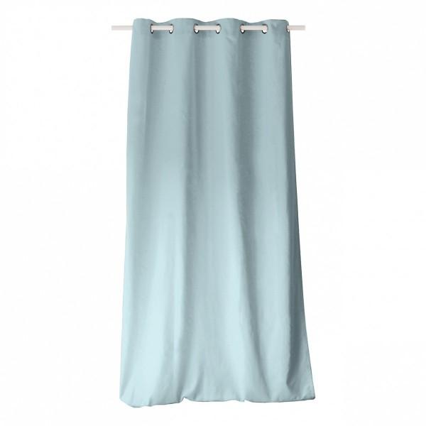 rideau tamisant 135 x 240 cm etna bleu gris rideau. Black Bedroom Furniture Sets. Home Design Ideas