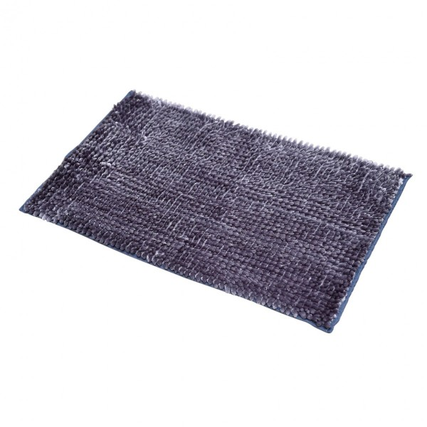 tapis de bain chenille bleu marine tapis eminza. Black Bedroom Furniture Sets. Home Design Ideas