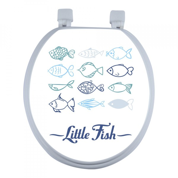 Copriwater Little fish Blu