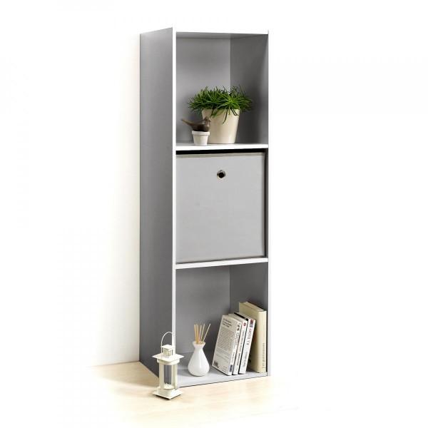 etag re homea 3 cases argent meuble de rangement eminza. Black Bedroom Furniture Sets. Home Design Ideas